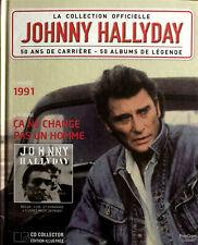 Johnny Hallyday - La Collection Officielle 1991 Ca ne change pas un homme - CD
