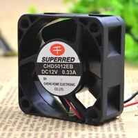 1pcs SUPERRED CHA4012AB-M Fan 4020 4CM 12V 0.10A