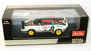 1/18 Lancia Stratos HF Rallye  Alitalia Winner Rally San Remo 1976 B.Waldegaard