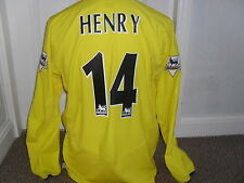 Arsenal 2003 - 05 Away  shirt ( HENRY # 14 ) Long Sleeved