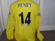 Arsenal 2003 - 05 Away  shirt ( HENRY # 14 ) Long Sleeved