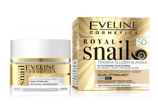 EVELINE ROYAL SNAIL CONCENTRATED FACE CREAM STRONG LIFTING DAY NIGHT 50+