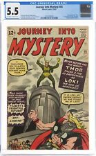 Journey Into Mystery 85 CGC 5.5 1st Loki Off White To White Hot! Beautiful Copy!