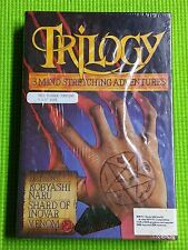 """rare PC game Trilogy 3 Mind Stretching Adventures 3.5"""" disk IBM PC Tandy 1000"""