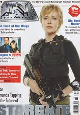 #172 Tv Zone science fiction magazine (Unread) Stargate - Lord Of The Rings
