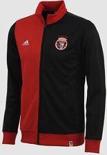 Adidas Brazil Music Samba F.C. Full Zip Jacket Track Top Xl Black Red Soccer New