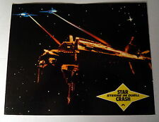 STAR CRASH * CAROLINE MUNRO; HASSELHOFF - Aushangfoto - German LOBBY CARD 1978