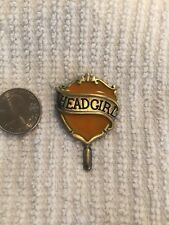 Harry Potter Hogwarts School Hufflepuff Head Girl Lapel Pin Free Ship in USA
