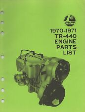 RUPP JLO  L-230 ENGINE PARTS MANUAL (636)
