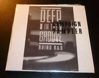 "New! ""DEEP IN THE GROOVE"" RHINO R&B Campaign Sampler (CD 1995) #PRCD 7192 SEALED"