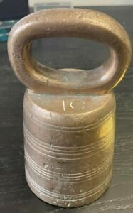ANTIQUE BELL WEIGHT - 10 POUNDS