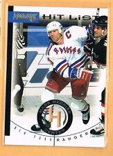 1996-97 Donruss Mark Messier Hit List /10,000 New York Rangers #8