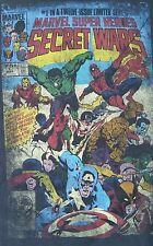 Marvel Secret Wars #1 Marvel Super Heros Hulk Iron Man Black T-shirt Medium