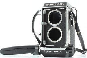 [ près De Mint ] Mamiya C220 Professionnel Tlr 6x6 Corps Caméra à Film + Sangle