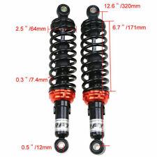 320mm Pair Rear Shock Air Absorbers Suspension Damper for Honda Yamaha Suzuki