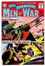 ALL AMERICAN MEN OF WAR #100 in VF+ condition a 1963 DC WAR comic