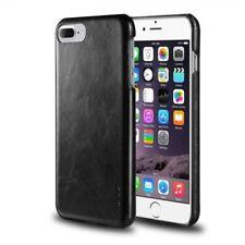 Fundas y carcasas Para iPhone 7 Plus color principal negro de piel para teléfonos móviles y PDAs