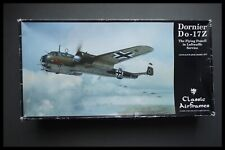 CLASSIC AIRFRAMES Dornier Do-17 1/48 SCALE MODEL KIT