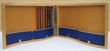 Caja de madera lápiz vacío/Estuche. contiene 60 Lápices -!!! Ver Descripcion!!!