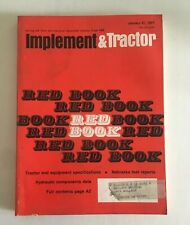 1977 - Farm Tractor and Implement Red Book International John Deere Ford Oliver