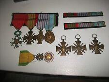 lot medailles militaire legion d'honneur liberation resistance seconde guerre