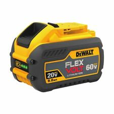 Genuine Dewalt DCB609 Flex-volt 60v 9.0Ah XR Li-Ion 9ah Lithium Slide Battery