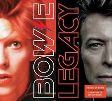 DAVID BOWIE LEGACY - The Very Best of 2 CD DELUXE EDITION 2016 0190295919870