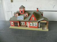decor maquette train station centrale gare depot lumineuse lewis galoob toys