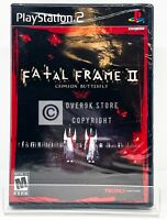 Fatal Frame II 2 Crimson Butterfly - PS2 - Brand New | Factory Sealed