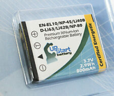 Battery for Nikon Coolpix S220, Coolpix S230, Olympus FE 340, Stylus 850 SW