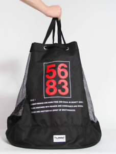 Willy Chavarria X Hummel 5683 Human Rights Act Ball Bag Sport Black NEW