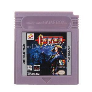 Castlevania Legends (USA) English Game Boy Video Game Card Cartridge