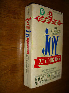 Joy Of Cooking The All-Purpose Cookbook vintage by Irma Rombauer Vol. 2 PB 1974