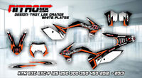 NitroMX Graphic Kit for KTM EXC EXC-F 125 250 300 350 450 2012 2013 Decal Enduro