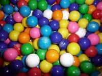 """Dubble Bubble 15 Pounds 1"""" Gumballs 850 Bulk for Vending- Assorted Fruit-24mm"""