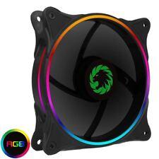 Game Max Mirage Rainbow RGB 120mm PC Fan 5V Addressable 3pin Header & 3pin M/B
