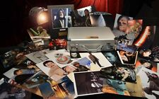 34 STAR WARS Signed AUTOGRAPH Collection, BRIEFCASE, DVD Blu Ray Set, COA, UACC