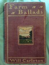 (1873) Farm BalladsBy Will Carleton Illustrated (Poetry)