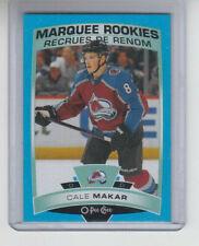 19/20 OPC Colorado Avalanche Cale Makar Blue Border Rookie RC card #528