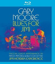 GARY MOORE - BLUES FOR JIMI (BILLY COX, MITCH MITCHELL,...)  BLU-RAY NEU