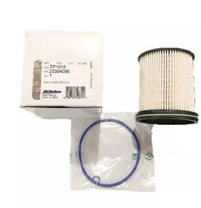 New OEM Genuine Chevy GMC ACDelco Pro Fuel Filter Kit & Gaskets TP1015 23304096
