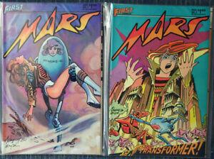 Mars #1 - #4 First Comics - Hempel and Wheatley! High Grade!