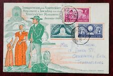 SOUTH AFRICA 1949 / INAUGURATION MONUMENT VOORTREKKER FDC