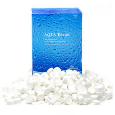 Compressed Dried Baby Wipe Towel Disposable Portable Coin Aqua Tissue 500Pcs