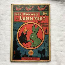 Les Contes Du Lapin Vert Benjamin Rabier HB Ed