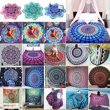Indian Mandala Tapestry Wall Hanging Bedspread Boho Ethnic Blanket Throw Mat New