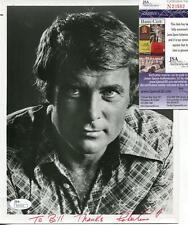 Robert Conrad Autograph Signed Photo Actor Wild Wild West JSA COA