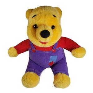 Vintage 1997 Disney Mattel Wiggle Giggle Winnie The Pooh Plush (Does not Talk)