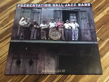 Signed Preservation Hall Jazz Band When The Saints New Orleans Vol 3 Autographed