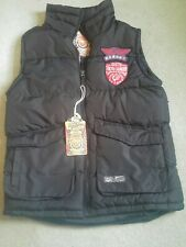 Tokyo laundry bodywarmer /gillet  blue. Mens size small - unused with tags
